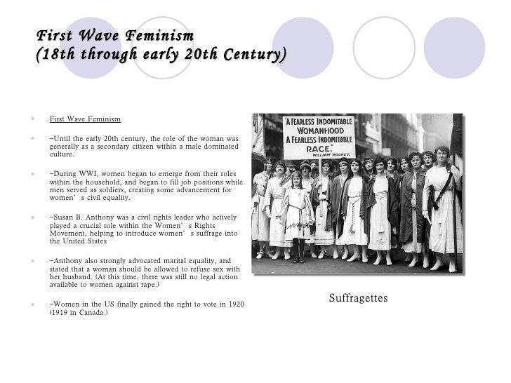 feminism before the 20th century essay