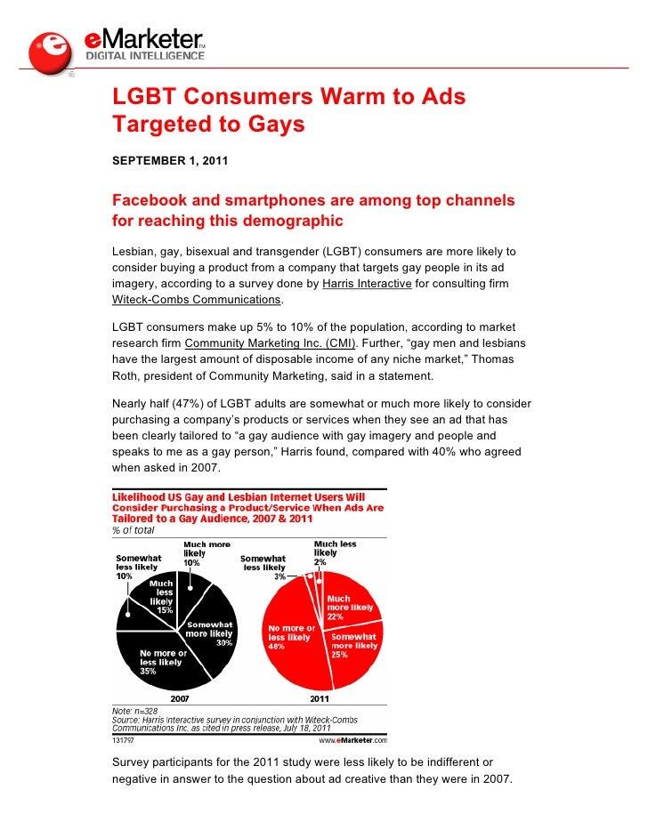 eMarketer LGBT Targeted Ads
