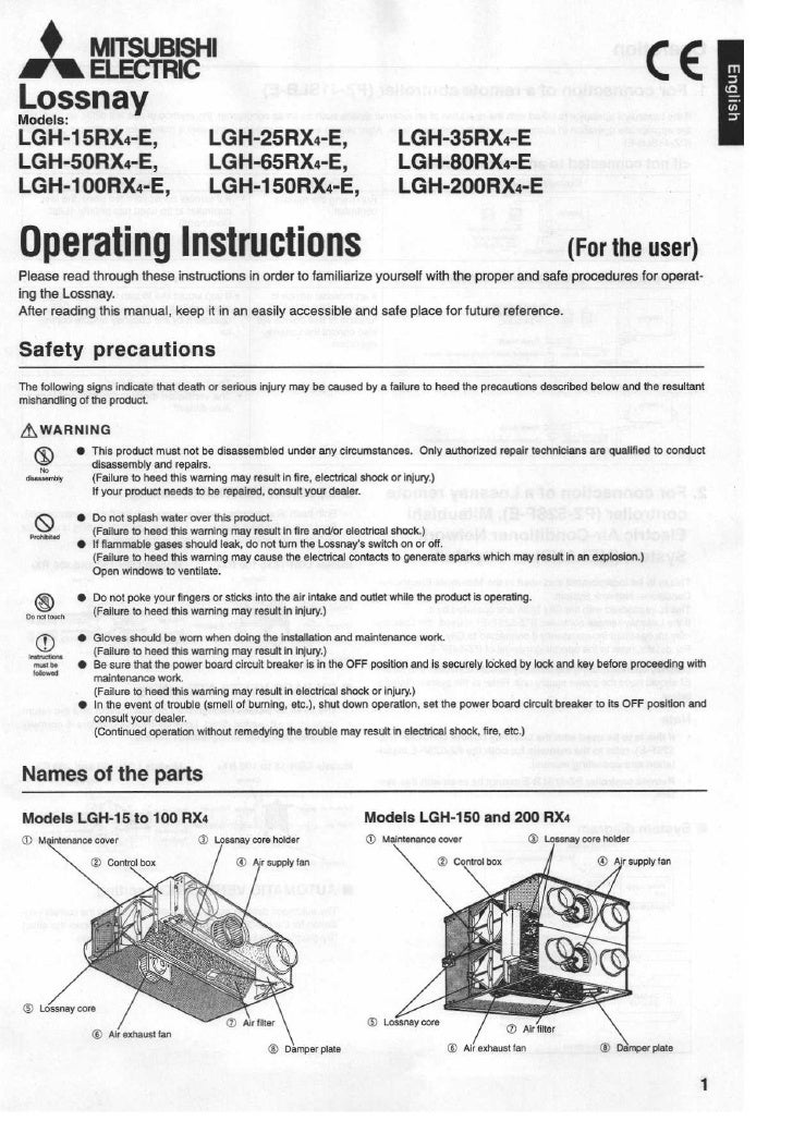 LGH xxx RX-E Operating_Installation_Instructions