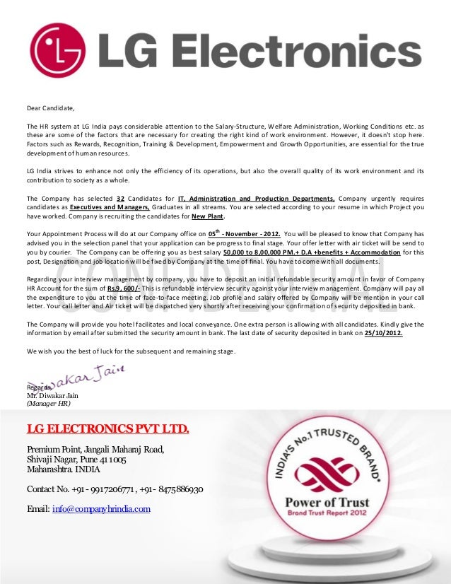 Letter Of Reliance Example Warranted