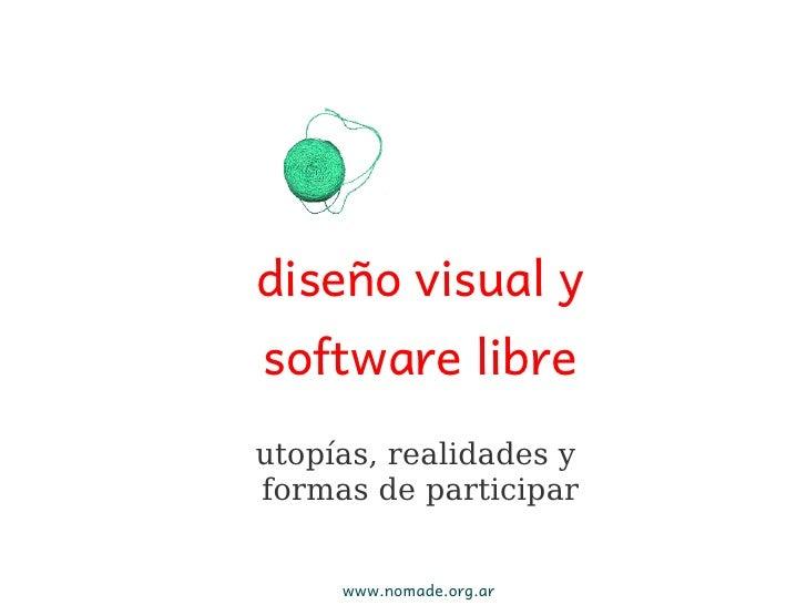 Diseño gráfico y software libre
