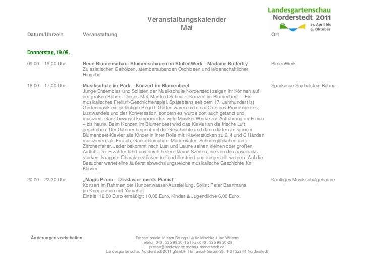 Veranstaltungskalender                                                                     MaiDatum/Uhrzeit             Ve...