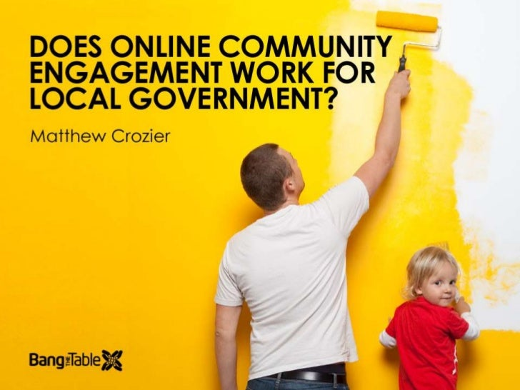 Does Online Community Engagement Work for Local Government