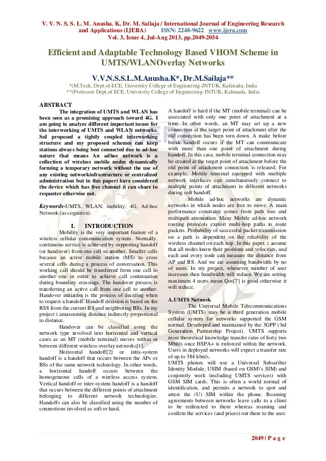 V. V. N. S. S. L. M. Anusha. K, Dr. M. Sailaja / International Journal of Engineering Research and Applications (IJERA) IS...