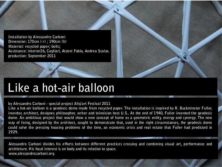 Like hot-air balloon