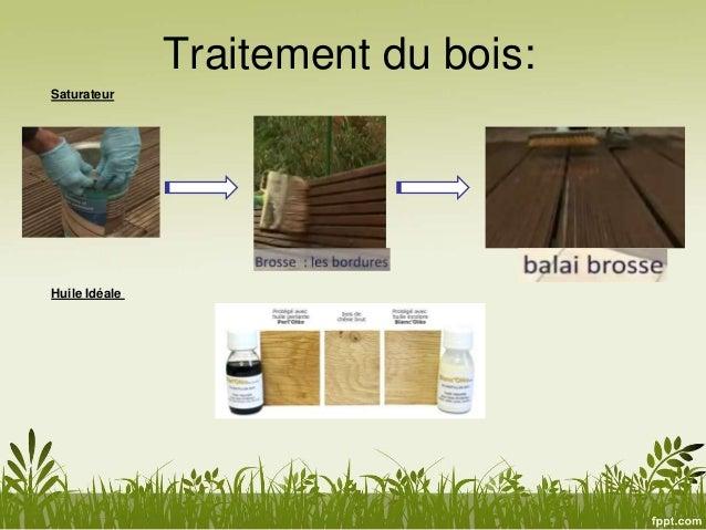 Traitement Bois Ecologique - L'habitatécologique