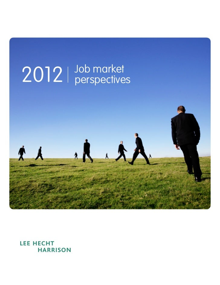 2012   Job market       perspectives