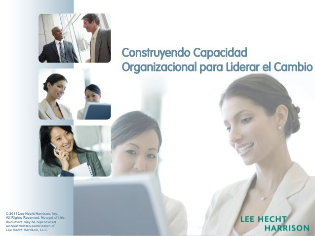 ChangeMap™  2011 for Leadership Teams LHH & DBM:The New Market LeaderChangeMap™ for Managers © 2011 Lee ...