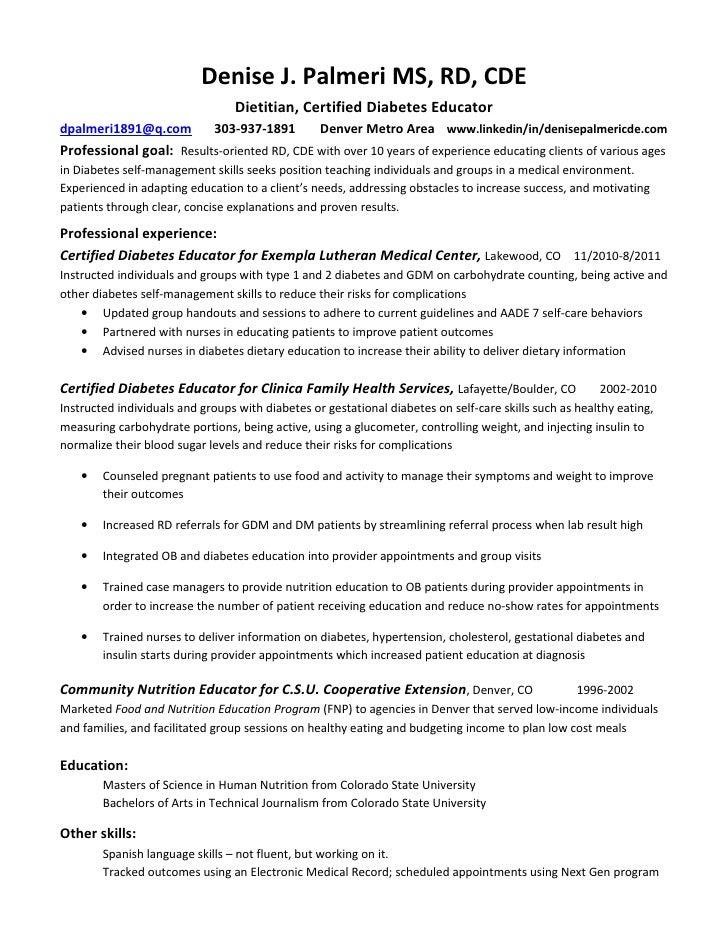 educator resume examples