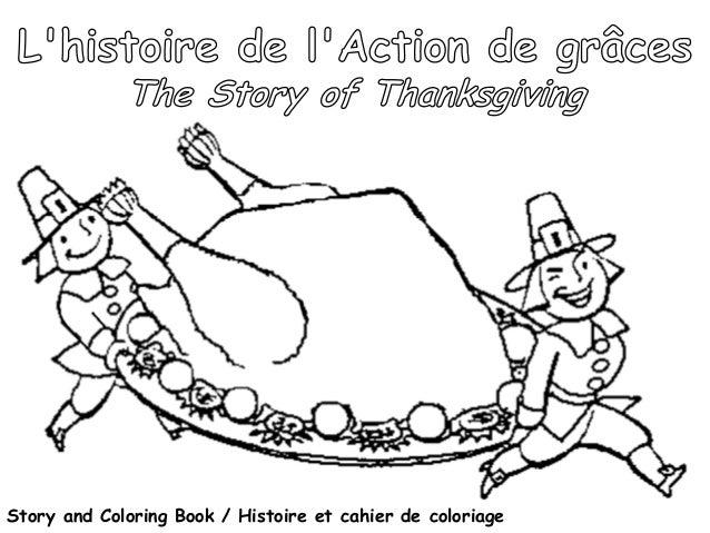 Story and Coloring Book / Histoire et cahier de coloriage