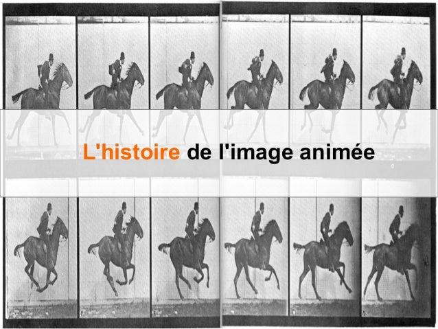 L'histoire de l'image animée