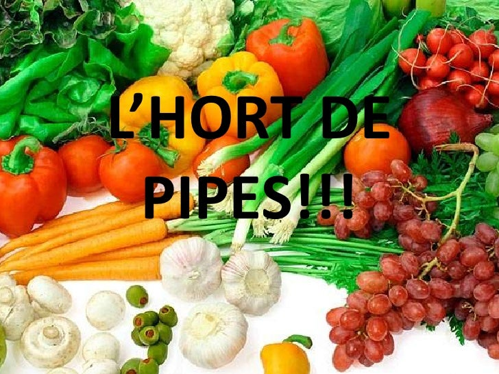 L'HORT DE  PIPES!!!