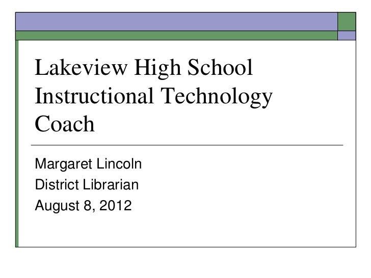 LHS Technology Coach