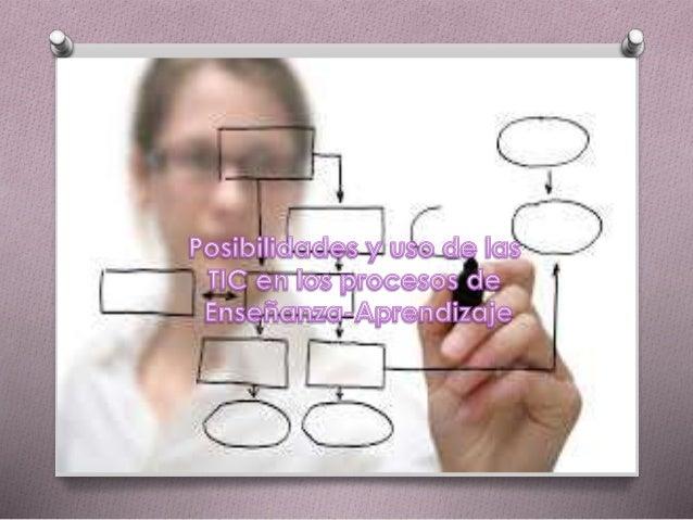 Posibilidades y uso de las TIC en los procesos de enseñanza-aprendizaje