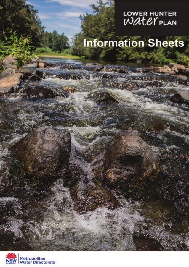 LHWP Information Sheets