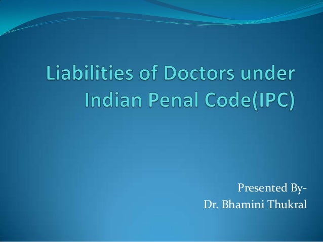 Presented By-Dr. Bhamini Thukral