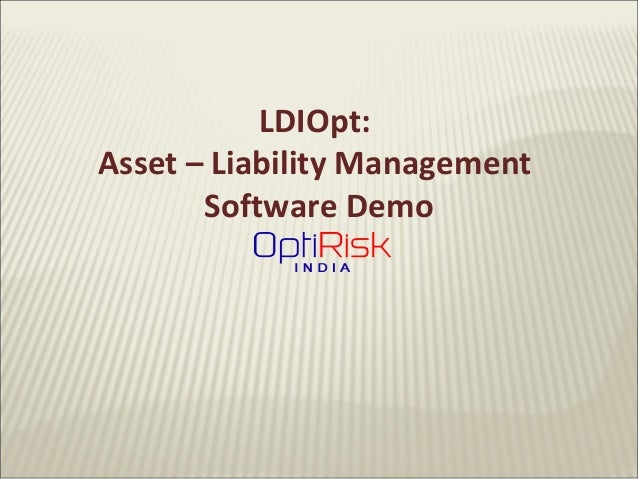 Liability driven investment asset liability management optimisation