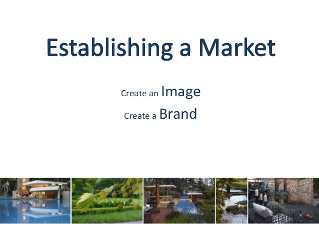 Create an Image Create a Brand