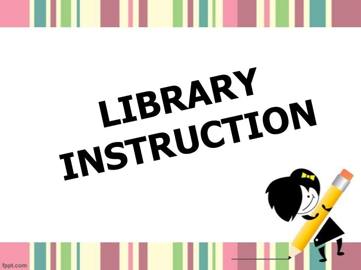 What is Library Instruction?