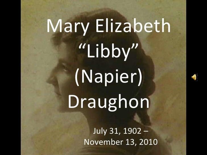 Libby Draughon