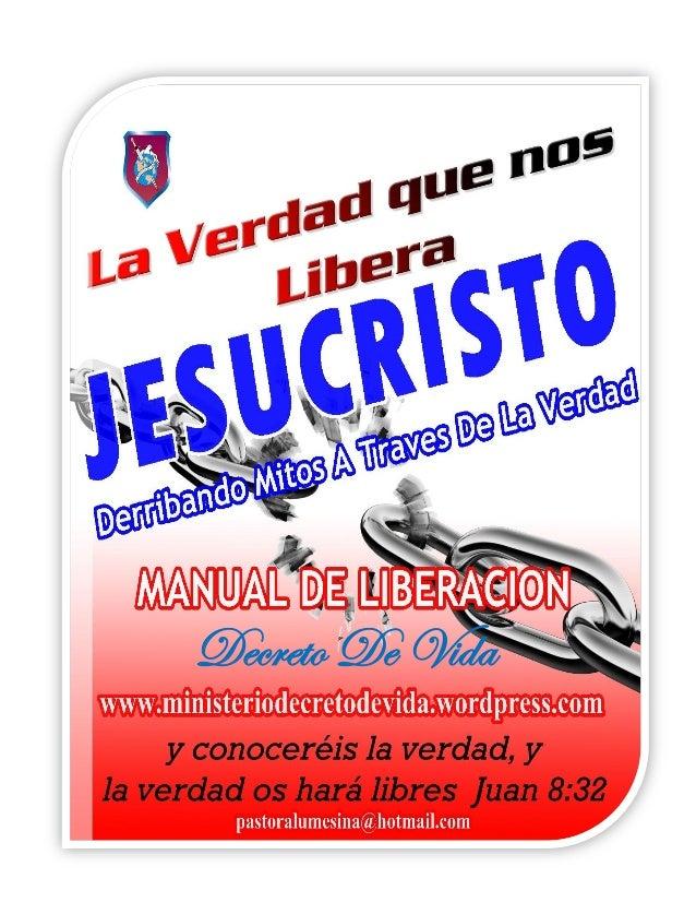 Exorcismo o Liberación...Manual de estudio..