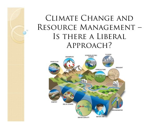 Climate Change andResource Management –Is there a LiberalApproach?