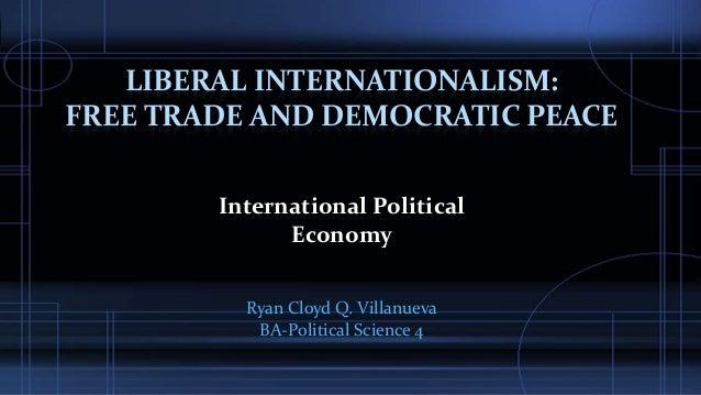 Political cooperation follows