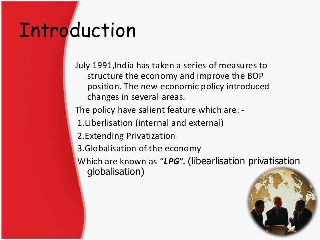 Globalization and liberalization essay