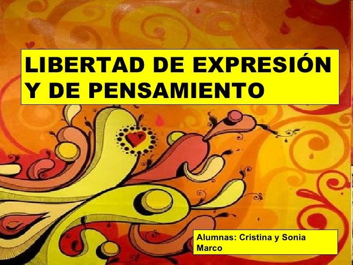 libertad y expresion: