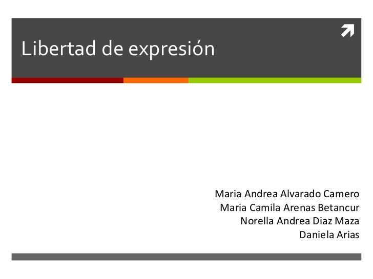 Libertad expresion (larga)2
