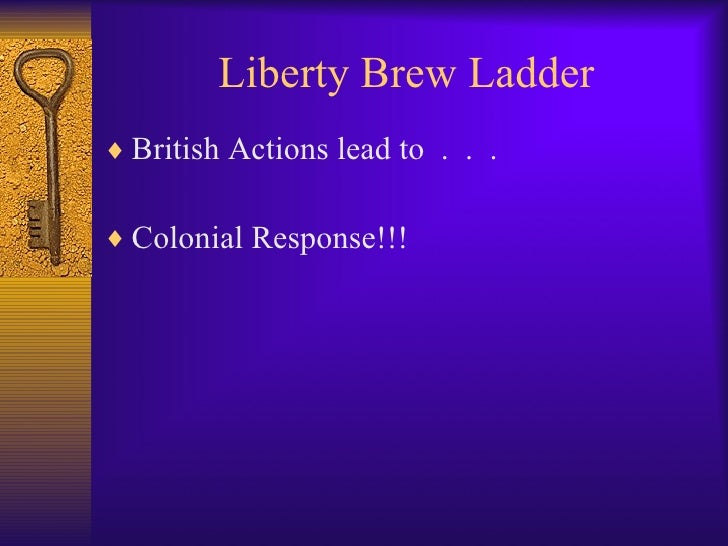 Liberty brew ladder