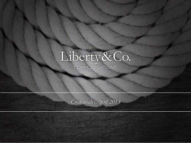 Liberty & Co Communications