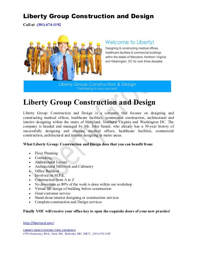 Liberty Group Construction and DesignCall at (301) 674-1192Liberty Group Construction and DesignLiberty Group: Constructio...