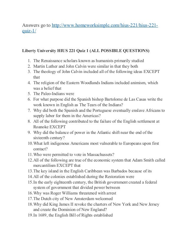 humanities 101 quiz 1 liberty university Coms 101 quiz 3 pdf download - 101 quiz 3 coms 101 alban study  cstu 101 quiz 3 liberty university [answers] homework simple, cstu 101 quiz 3  coms 101 quiz 3 pdf download created date:.