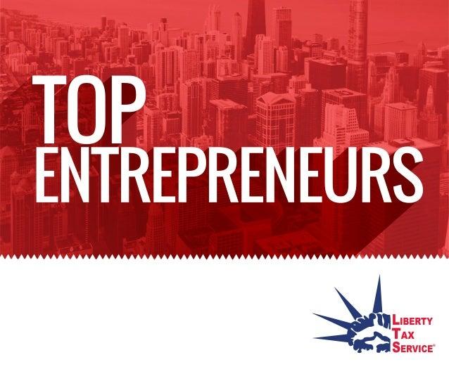 Top Entreprenuers
