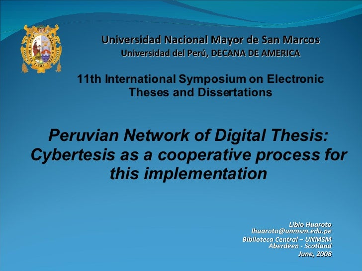 network digital of theses and dissertations Etds: virginia tech electronic theses and dissertations to search all virginia tech print and digital theses and dissertations a suspended fiber network platform for the investigation of single and collective cell behavior.