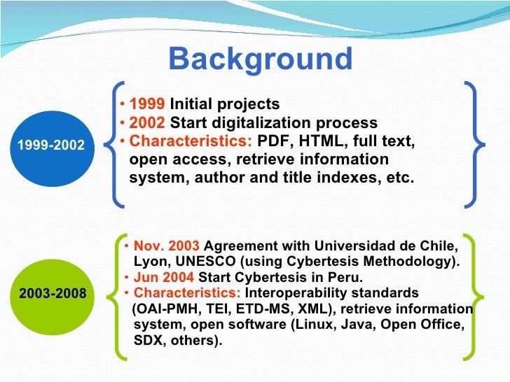 Digital thesis