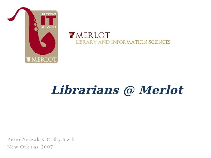 Librarianmerlot New Orleans
