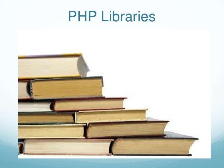 PHP Libraries