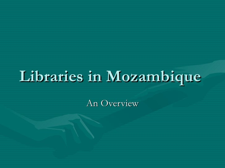 Libraries In Mozambique