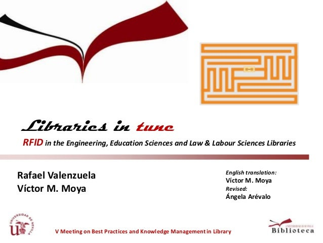 Libraries in tune :  RFID in the Engineering, Education Sciences and Law & Labour Sciences Libraries