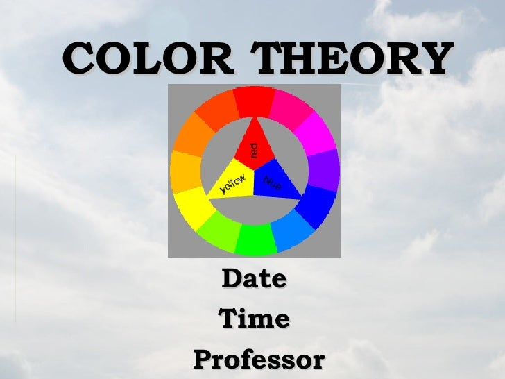 Library Instruction for Color Theory (Brief)