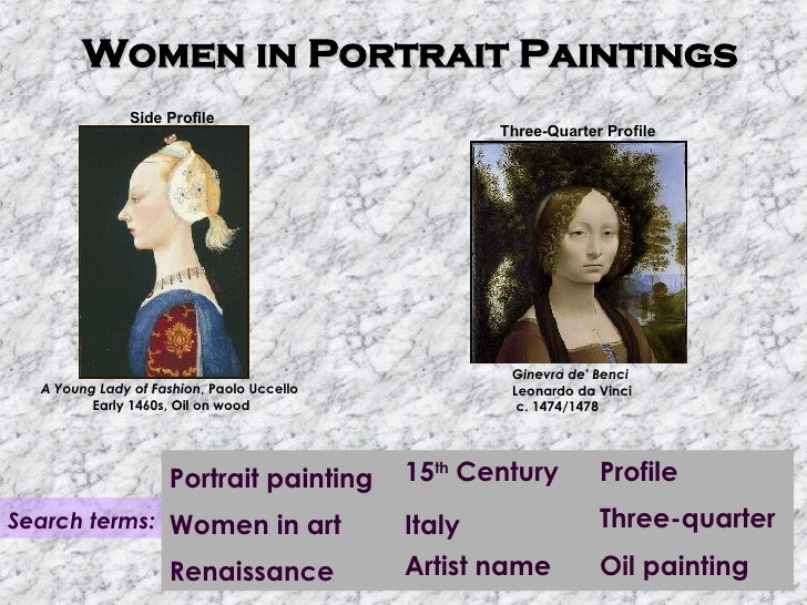 Renaissance art terms