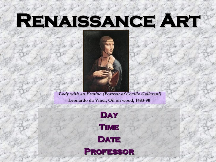 Library Instruction for Renaissance Art