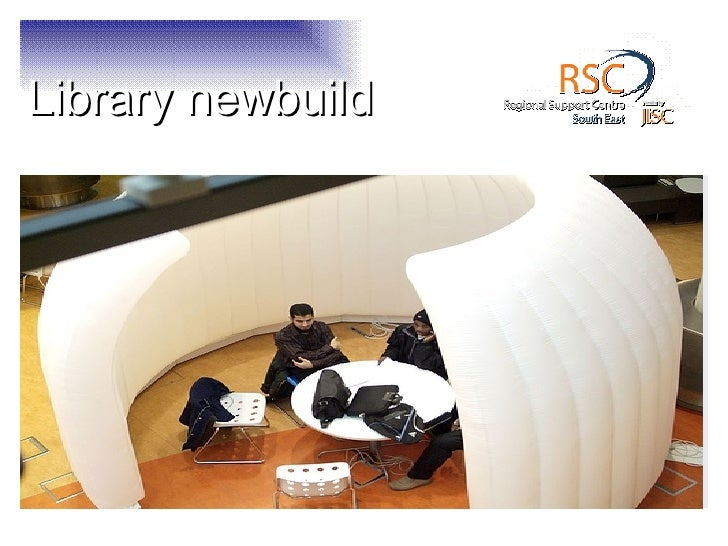 Library Newbuild - trends in academic library design
