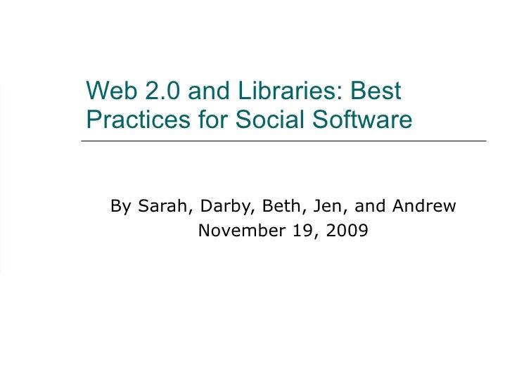 Library 2.0 Presentation