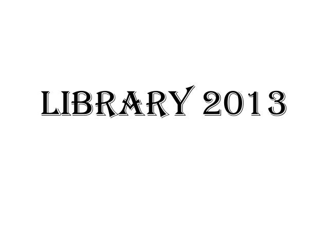Library 2013