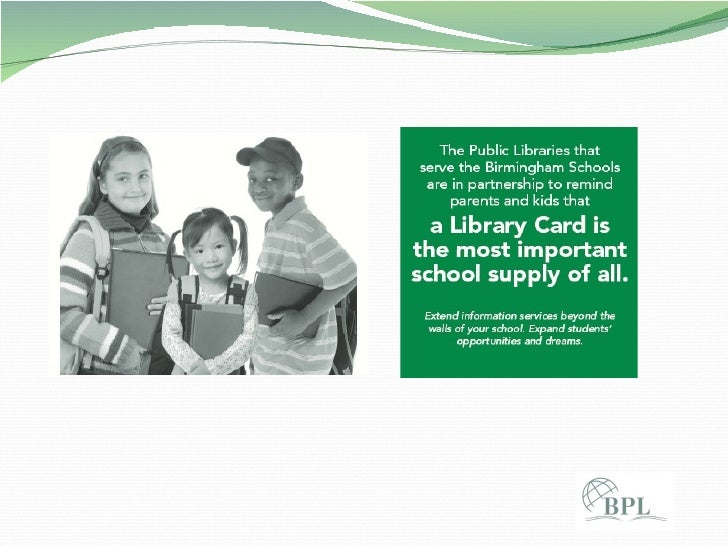Library Card Importance