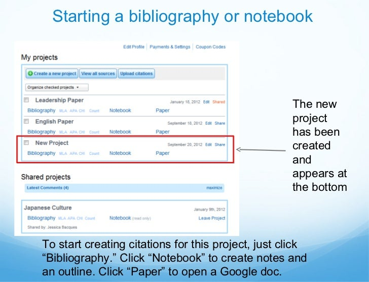 Annotated bibliography easybib