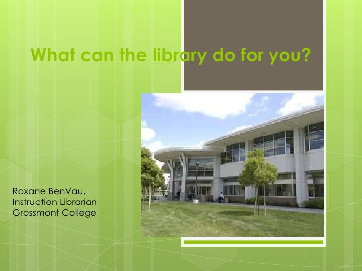 Library instruction sessions